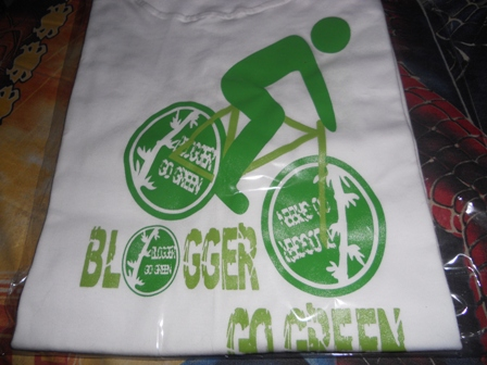 kaos blogger go green